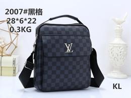 Mens designer cross body bags online shopping - Designer Mens famous single shoulder bag handbag messenger briefcase crossbody trip bags good quality PU leather