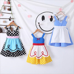 $enCountryForm.capitalKeyWord Australia - Girls Princess apron dress costume party dress up cosplay outfit christmas dress for baby girls Tutu apron halloween costume DHL FJ331