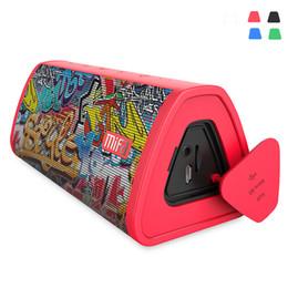 Audio Rock Australia - Portable Mifa Red-Graffiti Bluetooth 10W speaker Wireless Loudspeaker stereo Rock Sound System 10W Waterproof Outdoor Microphone Speaker
