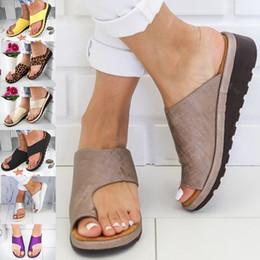 $enCountryForm.capitalKeyWord Australia - Summer Women Slippers Open Toe Wedge Slippers Casual Shoes Beach Flip Flops Non-slip Ladies Sandals Plus Size 34-43