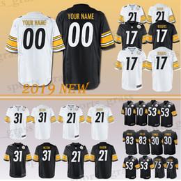 27949a1b7ce Custom Game Pittsburgh Steeler Jersey 31 Mike Hilton 17 Eli Rogers 25 Artie  Burns 32 Franco Harris 83 Heath Miller 24Taylor 58 Lambe Jerseys