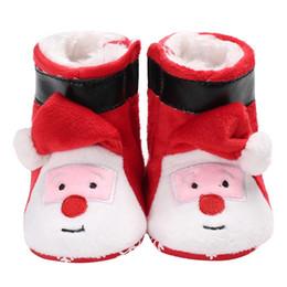 $enCountryForm.capitalKeyWord Australia - Baby Boys Girlsborn Christmas Winter Warm Snowfield Boots Shoes Infant Toddler Cartoon Sale Shoes