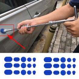 $enCountryForm.capitalKeyWord Australia - 30pcs Car Body Dent Removal Pulling Tabs Paintless Repair Tools Glue Puller Tabs Sag repair chuck Car repari tools