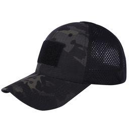 Outdoor-Sportarten Camo Navy Hat Marines Armee Schießen Kampf Angriff Baseball Cap Tactical Camouflage Cap SO07-011 im Angebot