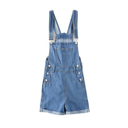 2f3a8fa3d19 Womens Loose Jeans UK - Womens Elegant Rompers Playsuits Ladies Plus Size  Loose High Waist Jeans
