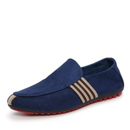 new hard drives 2019 - New Spring Men Suede Leather Loafers Driving Shoes Moccasins Summer Fashion Men's Casual Shoes Flat Breathable Lazy