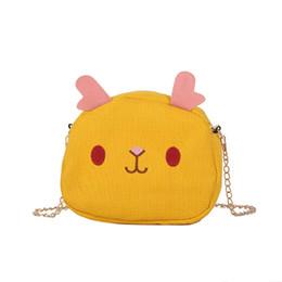 $enCountryForm.capitalKeyWord Australia - Cartoon Canvas Cross Body Bags Women Cute Cartoon Messenger Bags Ladies shoulder small chain square bag handbags #10