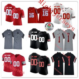 online retailer fcfa5 897cc Ohio State Buckeyes Custom Football Jersey Online Shopping ...