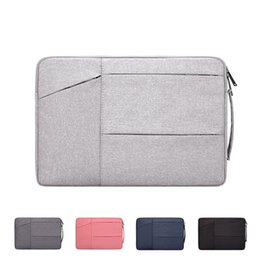 Hp laptop bags cHina online shopping - Polyester waterproof and lightweight laptop bag Notebook liner bag Suitable for Apple mac inch Exhibition felt bag Custom LOGO