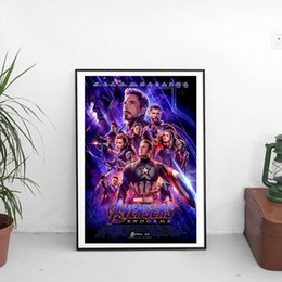 Marvel Canvas Prints Australia - Avengers Endgame Superhero Marvel Wall Art Canvas Poster And Print Canvas Painting Decorative Picture For Living Room Home Decor