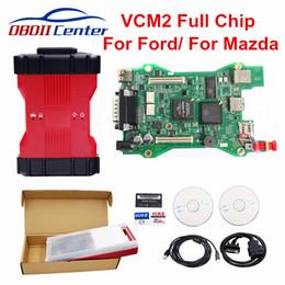 Ids Diagnostic Scanner Australia - VCM2 VCM 2 For Ford Mazda II Car Diagnostic Tool IDS Full Chip Dual PCB SW V112  V101 Auto Scanner