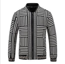 D branD jacket online shopping - New Embroidery Men casual wear zipper Hooded jackets Elastic cuff D printing uxury brand Designer Lightweight VE SA E Windbreaker
