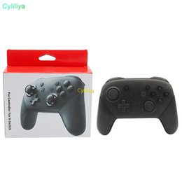 Wireless Console Controller Australia - Bluetooth Wireless Remote Controller Pro Gamepad Joypad Joystick For Nintendo Switch  Switch Pro Console Hot