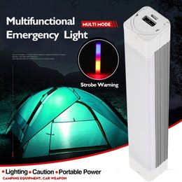 battery led strobe lights Australia - Emergency Light Multi-function Rechargeable Flashlight LED Strobe Light Lamp Portable Battery Magnetic Sticker for Car Home Camp Outdoor