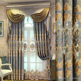 Modern Living Products Australia - finished product customized New curtain fabric laser embroidery chenille curtain modern minimalist living room bedroom balcony finished