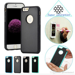 $enCountryForm.capitalKeyWord NZ - Anti-gravity Nano-adsorption magic Cell phone Magnetic Back Case shell For Iphone 5SE 7 6 6S Plus Anti-fall TPU Magnet Cover Cases