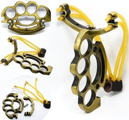 Women Knuckle Dusters NZ - Hot sell Sport Hell detective Constantine Steel Brass knuckle dusters Security Women Men Self Defense Personal slingshot Outdoor Games Tools
