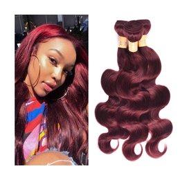 Jet Black Body Wave Hair Australia - Malaysian Indian Brazilian Virgin Hair Bundles Peruvian Body Wave Hair Weaves Jet Black Color #1 #2 #4 #27 #99j Human Hair Extensions