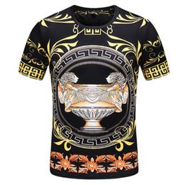 $enCountryForm.capitalKeyWord Australia - Summer dress Men's Really high quality Cotton Advanced hot stamping Round neck T-shirt Short sleeve Polo shirt International menswear