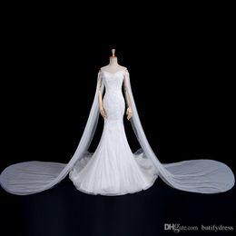Man Made Dresses Australia - Luxury Wedding Dresses Luxury Arabic Wedding Dresses New Design Elegant High Quality Long Train Brides Dresses Chinese Factory Man Made