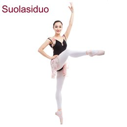 Body Suits Adults Australia - Suolasiduo Gymnastics Suit Ballet Dance Practice Clothes Soft Female Adult First Sleeves Jumpsuit Body Suit Class Clothes