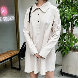 $enCountryForm.capitalKeyWord NZ - 2019 Women's Dress Japanese Harajuku Loose Office Beach Mini Dress Spring Female Cute Korean Kawaii Dresses For Women
