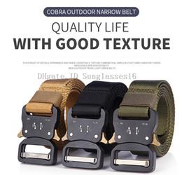 $enCountryForm.capitalKeyWord Australia - 125cm 49 Inch Men Belt Mens Designer Belts Ceinture 3 Colors Tactical Quick Release Nylon Buckle Zinc Alloy Outdoor Sports Waist Strap