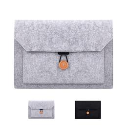 Venta al por mayor de Business Laptop Briefcase Sleeve Bag para Macbook Air Pro 11.6 13.3 12.5 15.4 Xiaomi Laptop Case Negro Gris