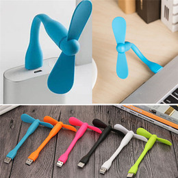 mini micro usb fan NZ - Mini Micro USB Fan by Smartphone Cell Phone Mobile Phone Fan Cooler For Android for iPhone Multi-Function Fan Hot Selling Portable Fashion