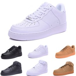 $enCountryForm.capitalKeyWord Australia - Brand discount One 1 Dunk Men Women Flyline Running Shoes,Sports Skateboarding Ones Shoes High Low Cut White Black Outdoor Trainers Sneakers