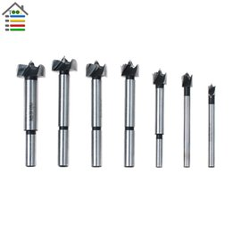 $enCountryForm.capitalKeyWord NZ - Cheap Drill Bits 7Pcs Forstner Drill Bit Set Woodworking Carbide Tips Hole Saw Wood Drilling 1 4 3 8 1 2 5 8 3 4 7 8 1