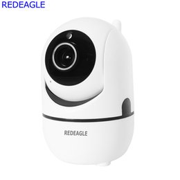 Audio Ip Camera Australia - 720P Mini Wireless WiFi Security IP Camera IR-Cut Night Vision Two Way Audio Recording Surveillance Network Baby Monitor Cameras