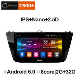 "Discount vw tiguan bluetooth - 10.1"" 2.5D Nano IPS Screen Android Octa Core 4G LTE Car Media Player With GPS RDS Radio Bluetooth For VW Tiguan 201"