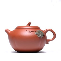 $enCountryForm.capitalKeyWord UK - Cao Zhigang, an authentic craftsman of Zhuni Pumpkin Pot in Yixing Zishahuyuan Mine, wholesale handmade teapots and teaware