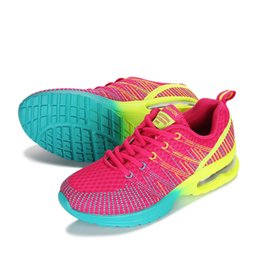 couple running shoes UK - 2019 New Sport Running Shoes Woman Outdoor Breathable Comfortable Couple Shoes Lightweight Athletic Mesh Sneakers Women High Quality