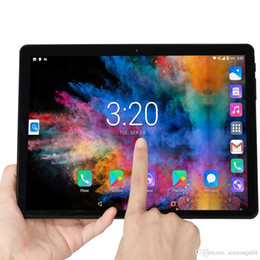 Ingrosso 2020 Nuovo Tablet Pc da 10.1 pollici Android 7.0 Google Play chiamata di telefono 3G compresse WiFi GPS Bluetooth 2.5D vetro temperato da 10 pollici Tablet