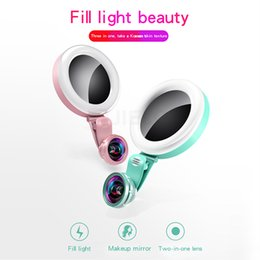 $enCountryForm.capitalKeyWord UK - selfies light Ring Light 20X Wide-Angle Tablet LED Makeup Flood Lamp Lens Non-Distortion Wide Angle Selfie Flash Lamp For iphone