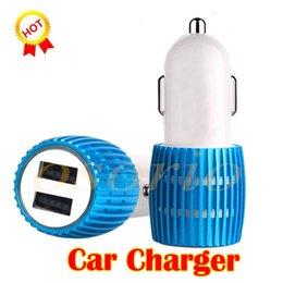 2.1 Usb Universal Car Charger Australia - Dual USB Port Car Charger Universal 12 Volt   1 ~ 2 Amp for Apple iPhone iPad iPod   Samsung Galaxy   Motorola Nokia Htc With LED