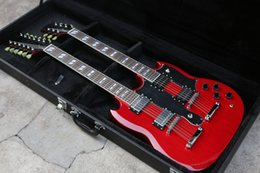 $enCountryForm.capitalKeyWord Australia - Rare 1275 Double Neck VOS Electric Guitar 2007 Custom Shop Jimmy SG Guitars Pa strings Led Zeppeli Page Bge 12 & 6 Red Good Pickups Tailpiec