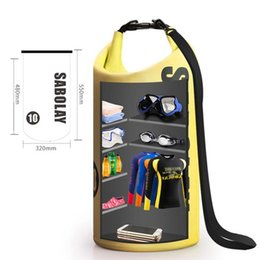 Mobile Gear Australia - Floating Waterproof Dry Bag Roll Top Sack Mobile Phone Storage Pouch Keeps Gear Dry for Kayaking Rafting Boating Swimming #931887