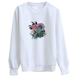 $enCountryForm.capitalKeyWord UK - Hillbilly J-1266 Sweatshirt retro painting style Phoenix print ladies long-sleeved hoodie Chinese style ladies satin t-shirt
