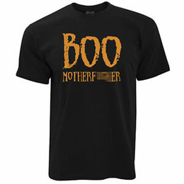 China Boo Motherf*Printer Adult Halloween Ghoslty Costume Scary Mens T-Shirt cheap pink printers suppliers