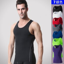 $enCountryForm.capitalKeyWord Australia - Brand Clothing mens Compression shirts Summer Slim Fit Men stringer Tank Tops Bodybuilding Undershirt gyms Fitness vest #736513