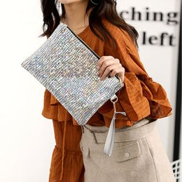 $enCountryForm.capitalKeyWord Australia - Luxury Handbag Women Bags Designer Envelope Party Clutch Holographic Ladies Hand Bags Evening Wristlet Clutch Day Clutches Purse156514681066