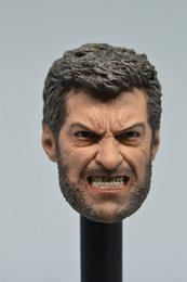 "$enCountryForm.capitalKeyWord Australia - Toys Hobbies Action Toy Figures ELEVEN 1 6 Wolverine Head Sculpt ANGRY LOGAN For 12"" Hot Toys Male Figure"