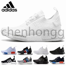 f05f52625 2019 Original New Arrival did Pharrell Williams Human Race NMD Primeknit PK  Running Shoes Black White Grey Nmds men women Sports primeknit PK runner  XR1 R1 ...