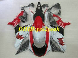 Discount yamaha gifts - Injection mold Fairing kit for YAMAHA YZFR1 15 16 YZF R1 2015 2016 YZF1000 ABS Red white Fairings set+Gifts YX02