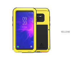 note love mei case 2019 - For Samsung Galaxy note 9 Case LOVE MEI Shock Dirt Proof Water Resistant Metal Armor Cover Phone Case for samsung note 8