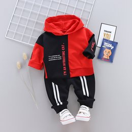 christmas clothes Australia - 2019 kids winter coats boys baby clothes Kids Designer Clothes Boys kids tracksuit set boys