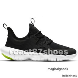 wide athletic shoes Australia - Free Shipping New Designer Run White Black Men Running Shoes High Quality 5 Sneakers RN TR Athletic Shoes Size Eur36-45 With Box